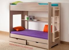 Двухъярусная кровать - компактная мечта!